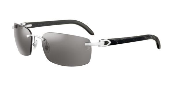 Cartier sunglasses-ct-0046s-001 buffalo horn