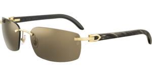 Cartier sunglasses-ct-0046s-003-buffalo horn