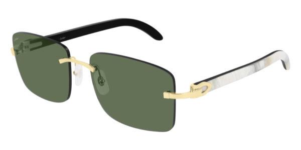 Cartier sunglasses ct-30rs-002 buffalo horn
