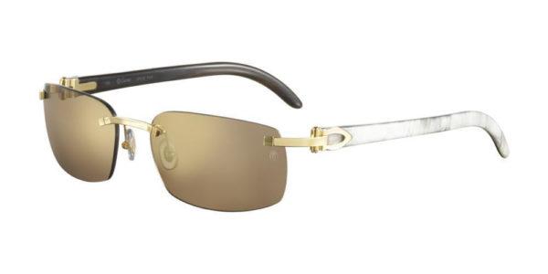 Cartier sunglasses-CT-0046S-004 buffalo horn